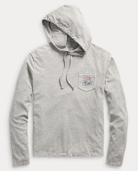 Custom Slim Fit Hooded T-Shirt