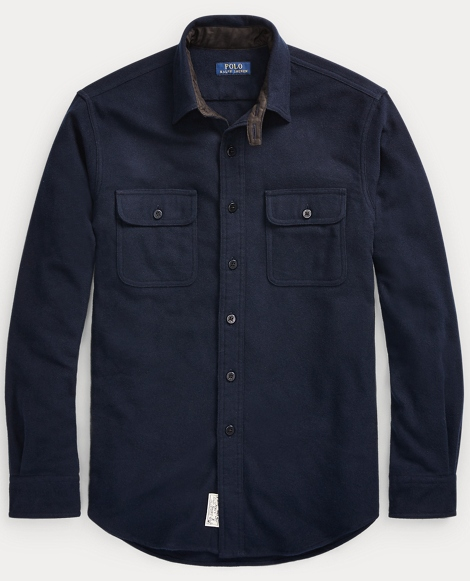 Classic Fit Cotton-Wool Shirt