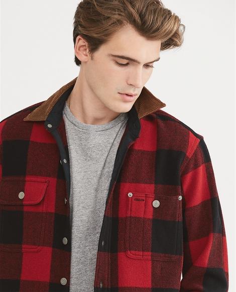 Classic Fit Wool-Blend Shirt