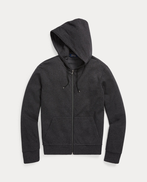 Cotton-Blend Full-Zip Hoodie