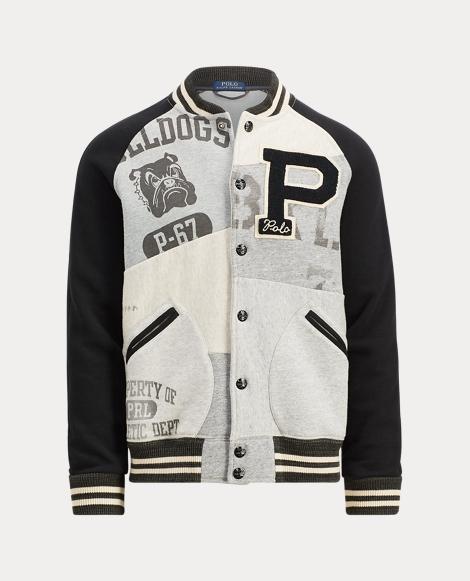 Patchwork Cotton-Blend Jacket