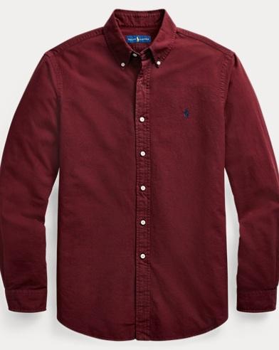 Slim Fit Cotton Oxford Shirt