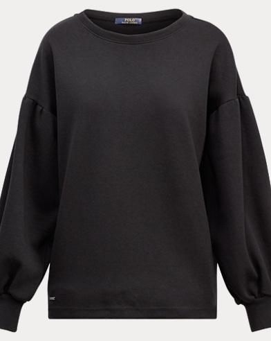 Cotton-Blend Crewneck Pullover