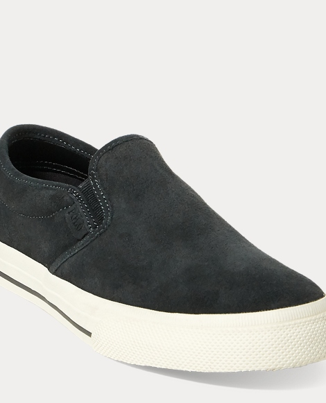 Vaughn Suede Slip-On Sneaker