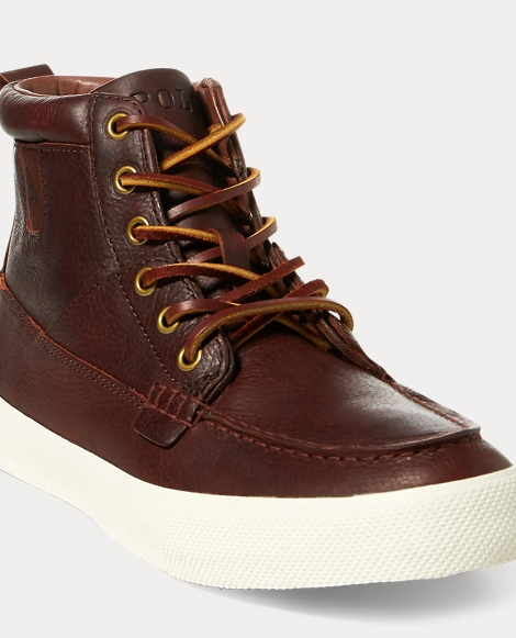 Tavis Leather High-Top Sneaker