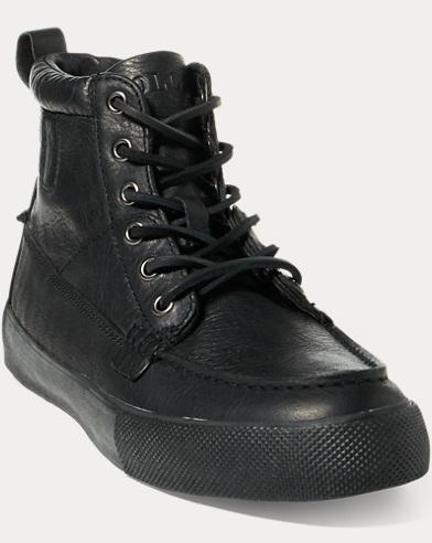 Tavis Leather High-Top Sneaker