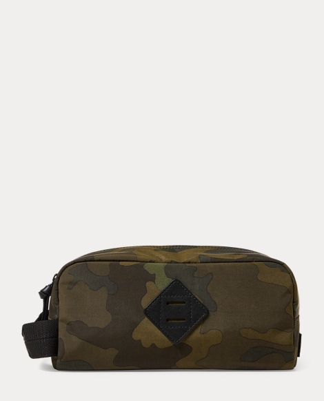 Camo-Print Oxford Shaving Kit