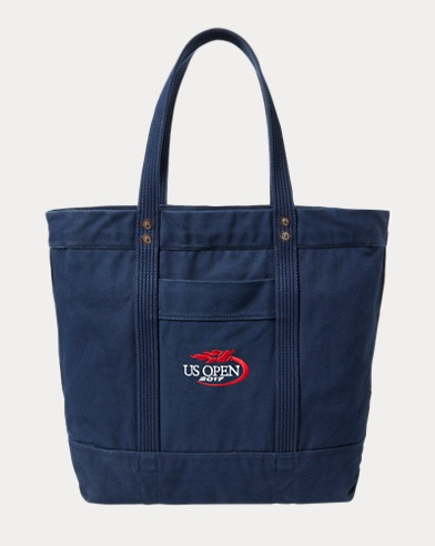 US Open Large Canvas Tote
