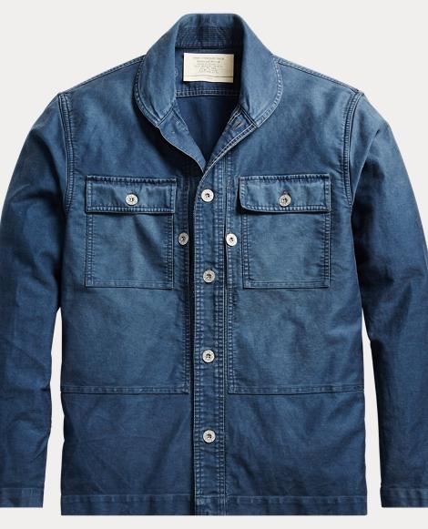 Wheeler CPO Cotton-Linen Shirt