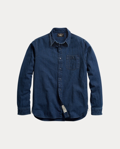 Indigo Dobby Workshirt