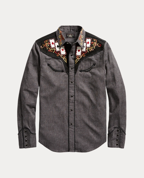 Saddle Cotton Western Shirt