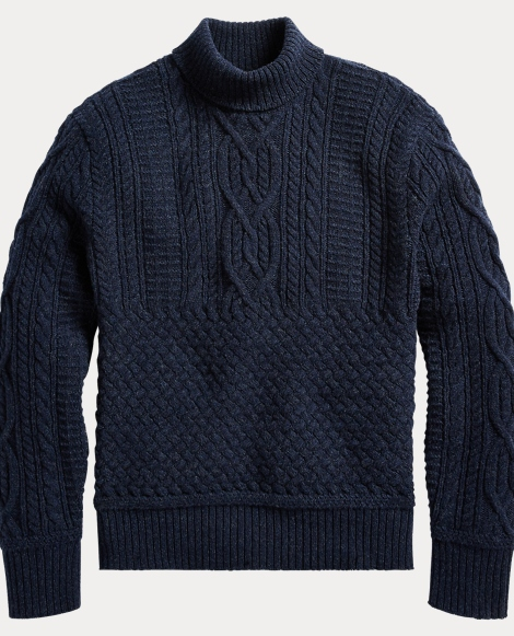 Wool-Cashmere Mockneck Sweater