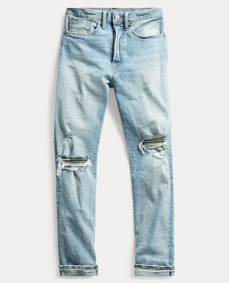 Stretch Selvedge Straight Jean