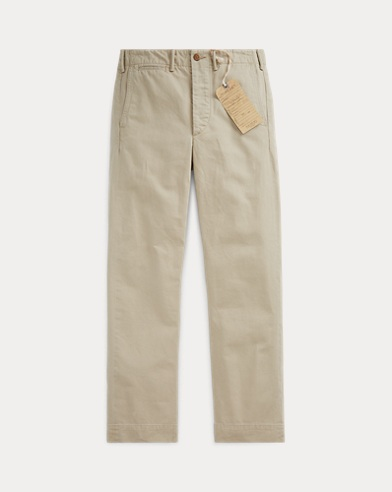 Relaxed Cotton Chino