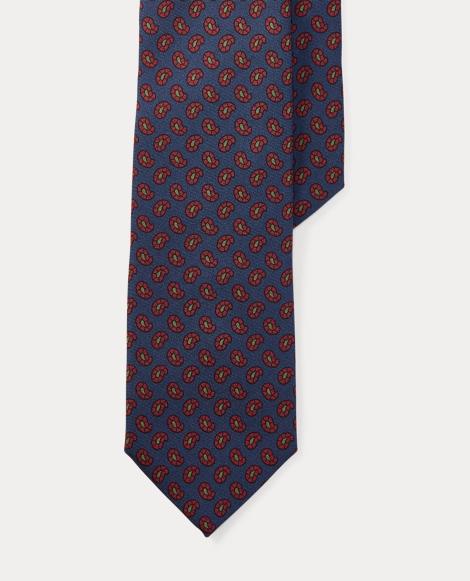 Neat Silk Twill Narrow Tie