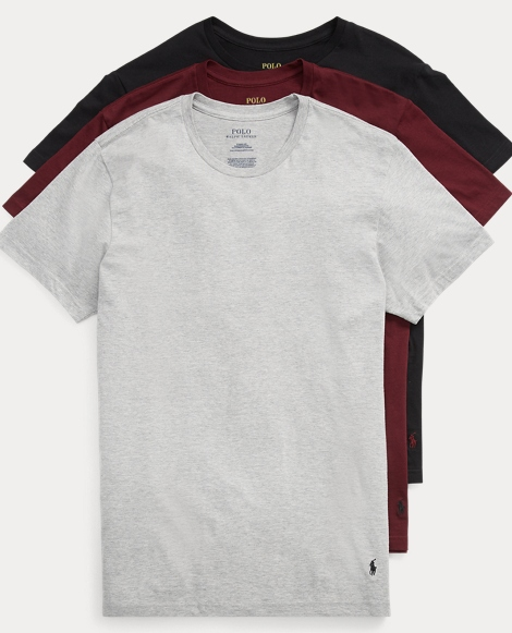 Crewneck T-Shirt 3-Pack