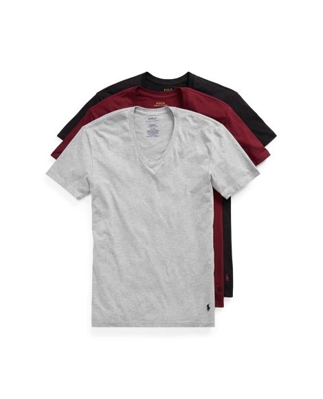 V-Neck T-Shirt 3-Pack