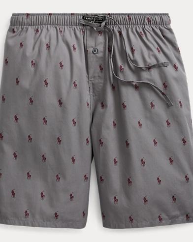Allover Pony Pajama Short