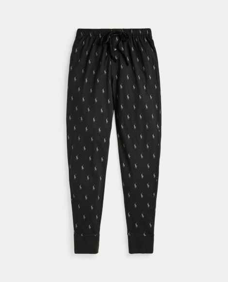 Allover Pony Knit Jogger Pant