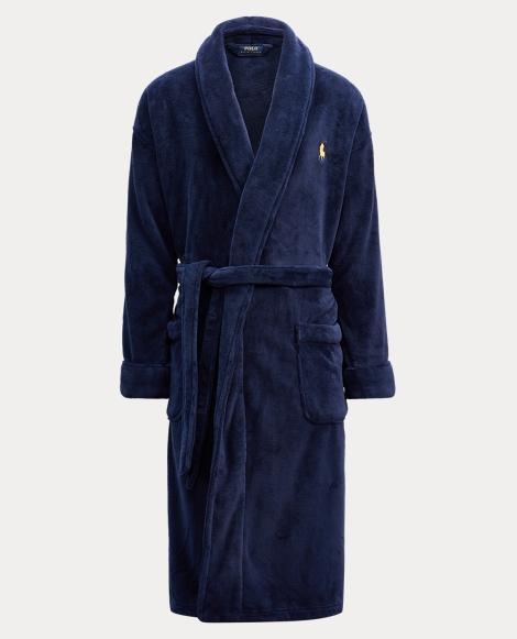 Microfiber Shawl Collar Robe