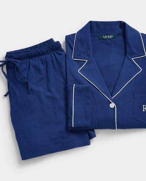 Cotton Pajama Short Set