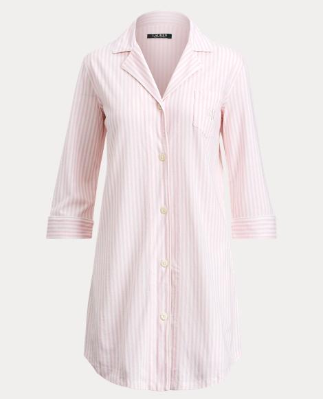 Striped Jersey Pajama Shirt