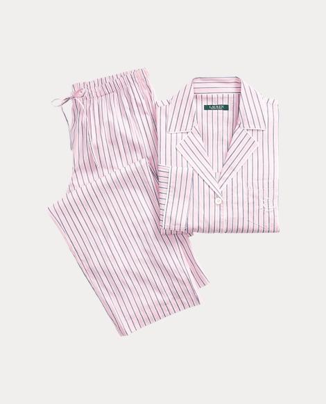 Striped Lawn Pajama Set