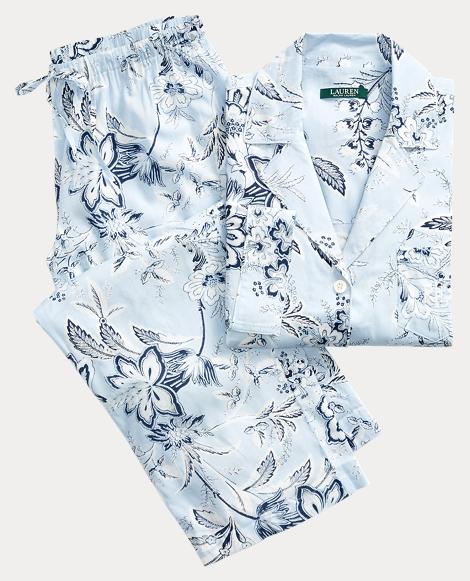 Floral Lawn Pajama Set