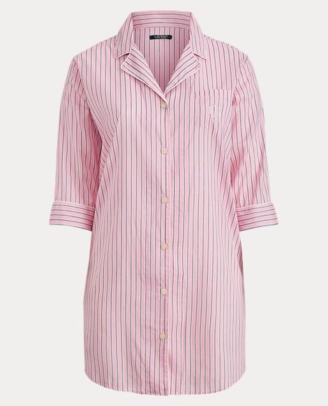 Striped Lawn Pajama Shirt