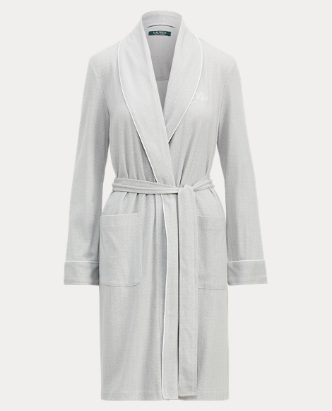 Herringbone Interlock Robe