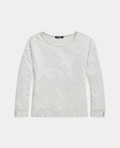 Jacquard-Knit Pajama Top
