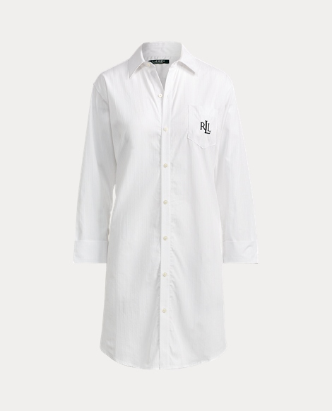 Cotton Dobby Pajama Shirt