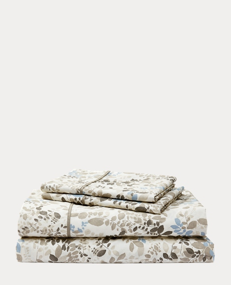 Devon Floral Percale Sheet Set