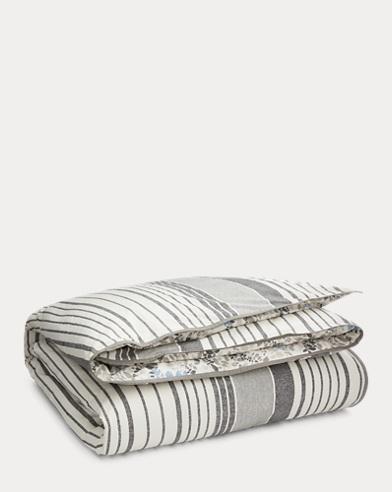 Devon Striped Duvet Cover Set