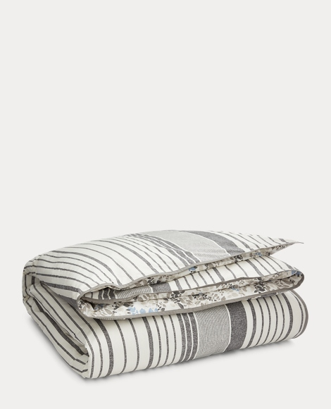 Devon Striped Duvet Cover Set