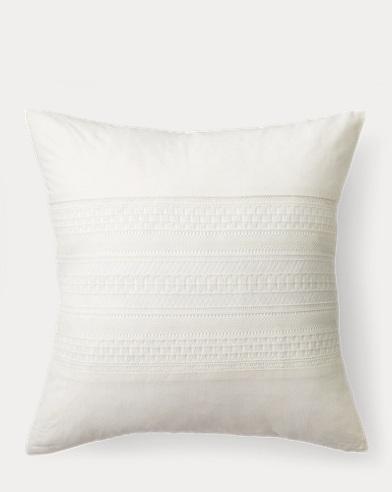 Devon Crochet Throw Pillow