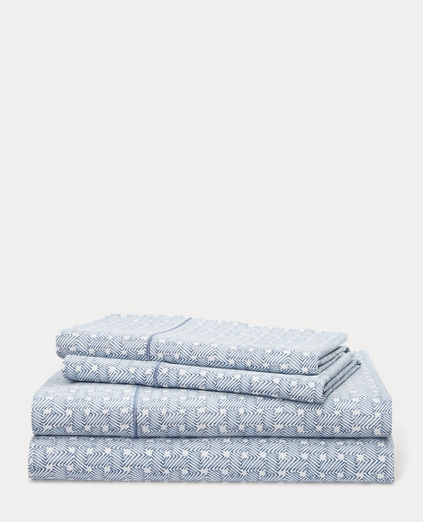 Spencer Basket-Weave Sheet Set