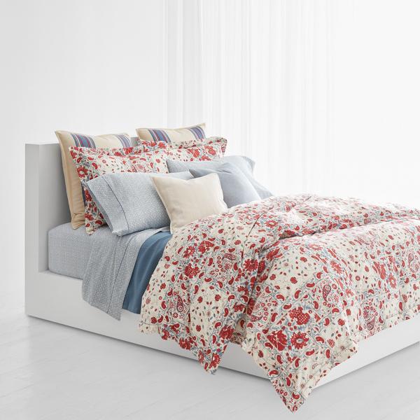 Ralph Lauren Kelsey Paisley Comforter Set Multi King