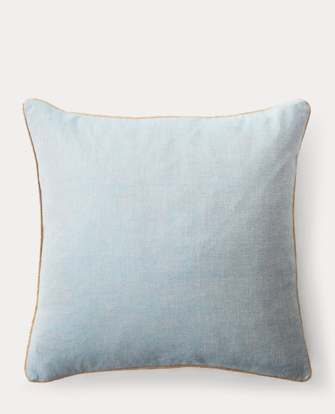 Kelsey Cross-Dyed Throw Pillow