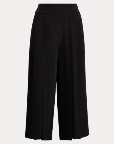 Cropped Wide-Leg Pant