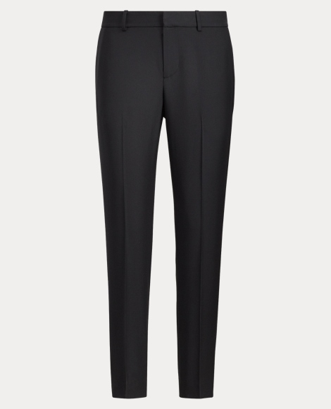 Wool Straight Pant