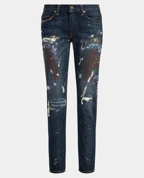 Paint Astor Boyfriend Jean