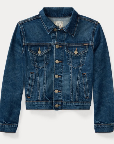 Stretch Denim Trucker Jacket