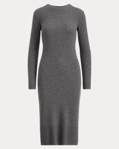 Wool-Cashmere Midi Dress