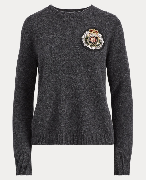 Crest Wool-Cashmere Sweater