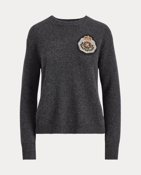 Crest Wool-Cashmere Sweater