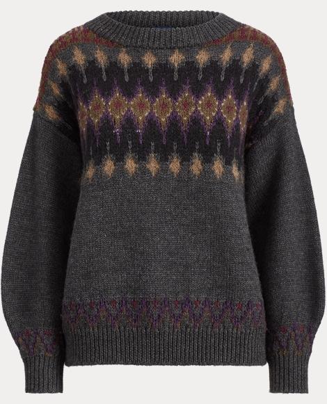 Fair Isle Wool-Blend Sweater