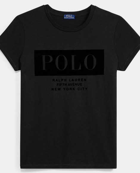 Cotton Jersey Polo T-Shirt