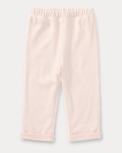 Pointelle Cotton Pant