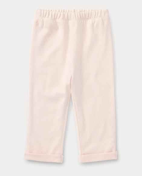 Pointelle Cotton Pant